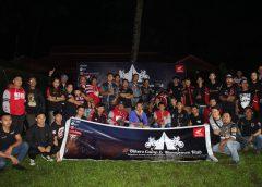 Sebanyak 132 peserta yang terdiri dari 21 club Honda berbaur dan saling bersilahturahmi satu dengan lainnya.