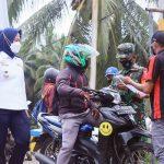 >> Situasi penyekatan di wilayah perbatasan Sulut dan Gorontalo dalam rangka memutus mata rantai penyebaran Covid-19.