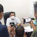 >> Kasat Reskrim Kompol Taufiq Arifin saat ditemui awak media.