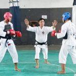 >> Suasana ujitanding para kenshi Sulut.