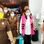 >> VAP saat berada di Kejati Sulut.