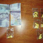 >> Barang bukti obat Trihexiphenidyl saat diamankan Tim Sat Res Norkoba Polresta Manado.
