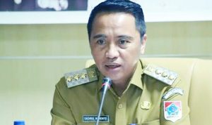 >> Bupati Boltim, Sam Sachrul Mamonto.