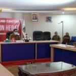 >> Walikota Caroll Senduk, saat memimpin Musrenbang RPJMD, diikuti secara daring oleh Wawali Wenny Lumentut, dan instansi terkait.